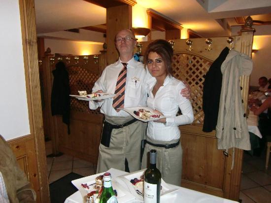 Der Nachtisch Ist Im Anmarsch Picture Of Trattoria La Casa