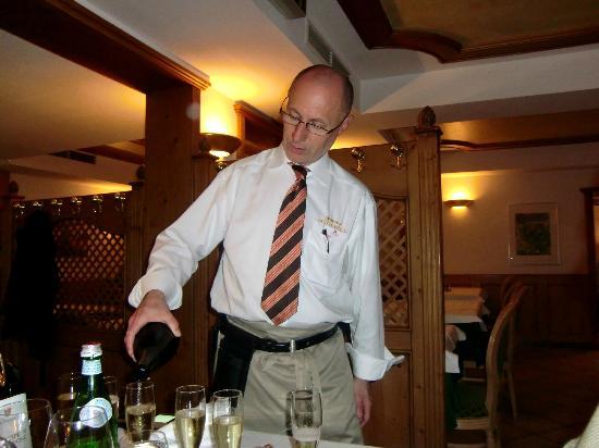 Trattoria La Casa Vecchia: ... zum gelungenen Diner als Abschluss noch einen guten Tropfen
