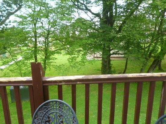 Whitbarrow Village: View from balcony on our Troutbeck cottage
