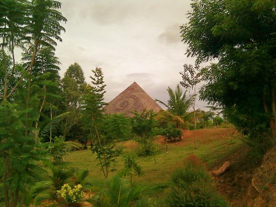 Pyramid surrounded by green valley - Picture of Pyramid