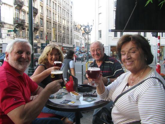 guten Laune im Hotel Orts in Brüssel