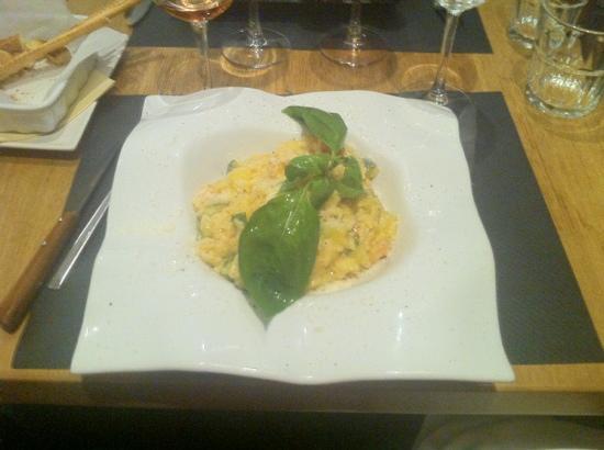 Maccheroni : risoto aux fruits de mer