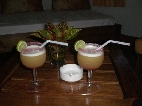 Lokobe lodge: A welcome drink - yummy!