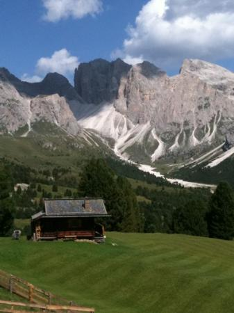 Hotel Malleier : Col Reiser...sopra Selva