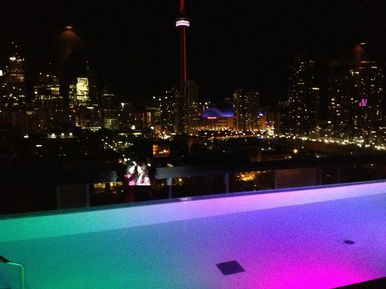 Thompson Toronto - A Thompson Hotel: View from rooftop bar!
