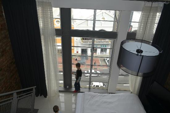 Protea Hotel Victoria Junction Waterfront: view from top room