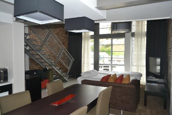 Protea Hotel Victoria Junction Waterfront : loft room