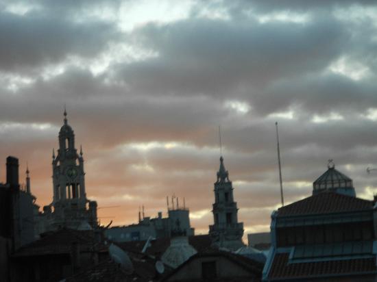 Oporto House: alba dal balcone