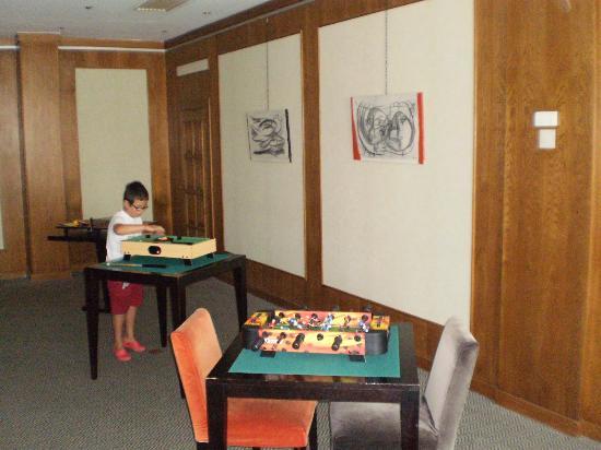 Hotel Inglaterra : Sala Juegos