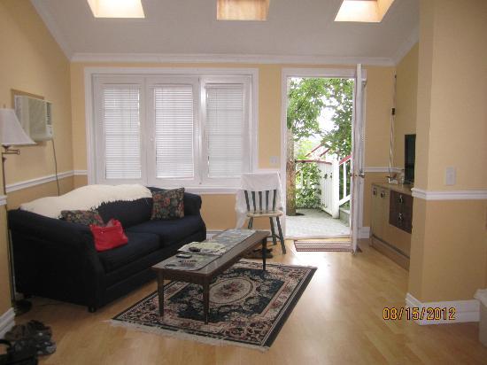 The Worn Doorstep: living area