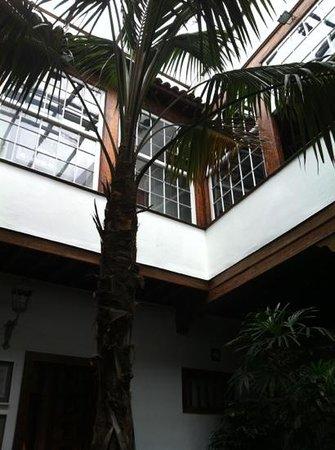La Patissier: patio interior