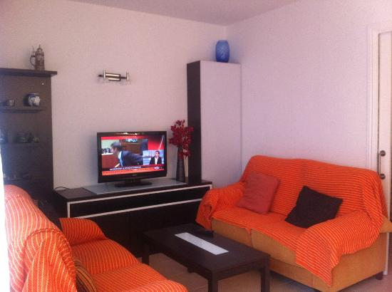 Hotel Tamariu: Living room