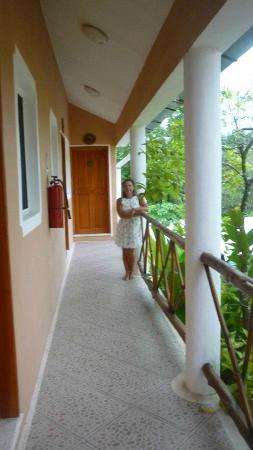 Hotel Residencia La Mariposa: vue du balcon 1er