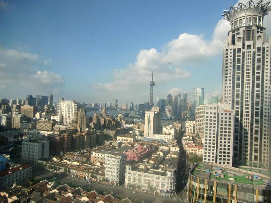 Salvo Hotel Shanghai: Panorama dalla finestra