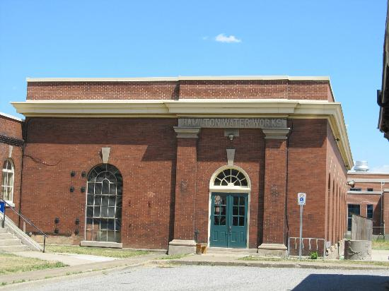 Hamilton Museum of Steam & Technology: Second building with pictures and diagrams