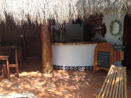 Posada Yum Kin: Breakfast area