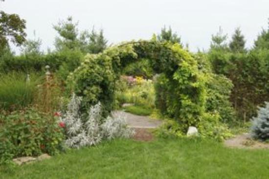 Angeline's Inn : garden-labyrinthte