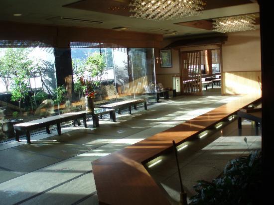 Yunohanatei: lobby