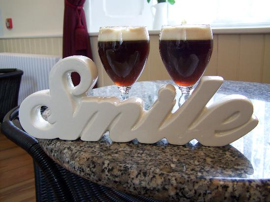 Foynes Flying Boat Museum: irish coffee