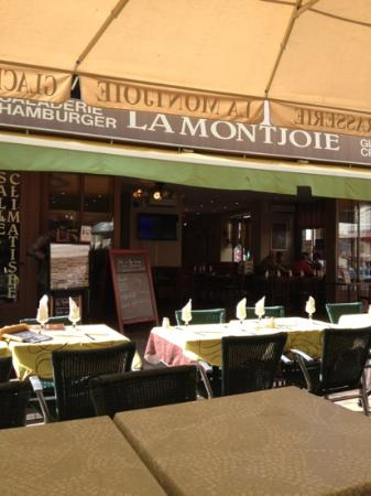 La Montjoie : La façade