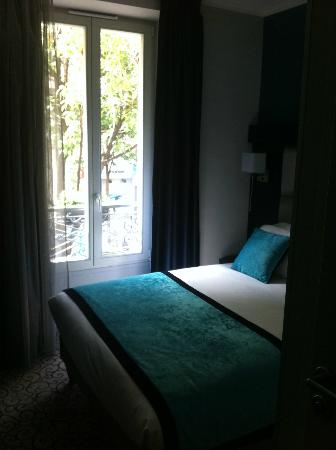Hotel Prince Albert Montmartre: letto