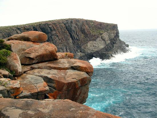 West Cape Howe National Park: A view of the cliffs and rocky coastline.