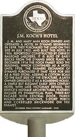J.M. Koch's Hotel Bed and Breakfast: jm kochs