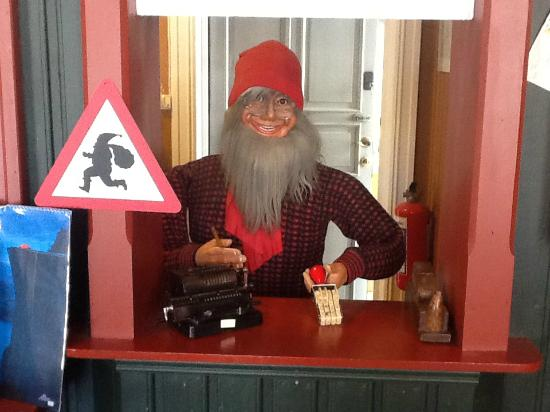 Drobak: Father Christmas postoffice