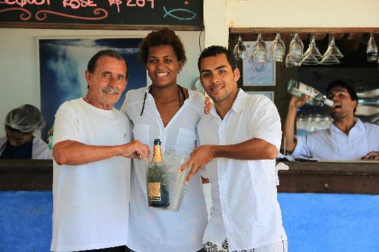 Rocka Beach Lounge & Restaurant: Un buen momento