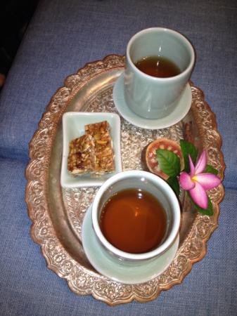 The Dheva Spa & Wellness Centre: お茶