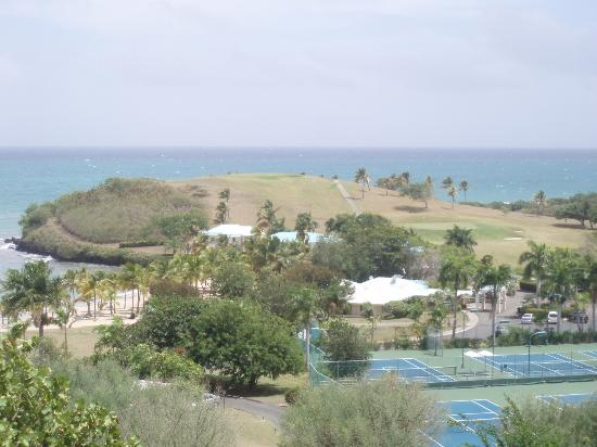 The Buccaneer St Croix: Overview from Terrace Restaurant of Mermaid Beach Area