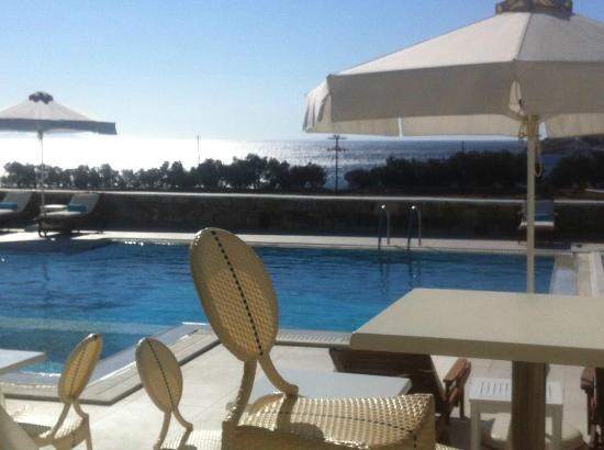 La Residence Mykonos Hotel Suites: colazione fantastica