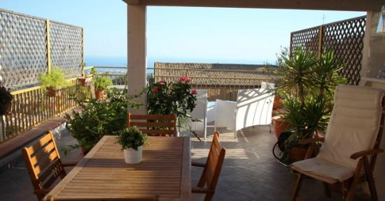 B&B Portatenea : Terrace