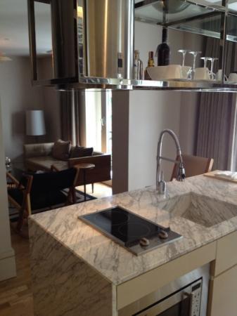 Witt Istanbul Suites: cucina