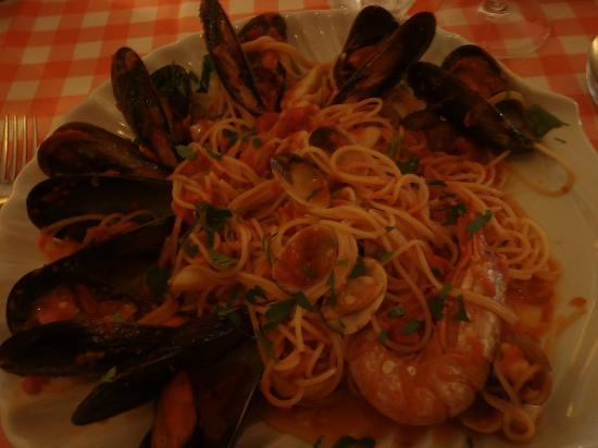 Restaurante Mangiafuoco: Pasta frutti di mare