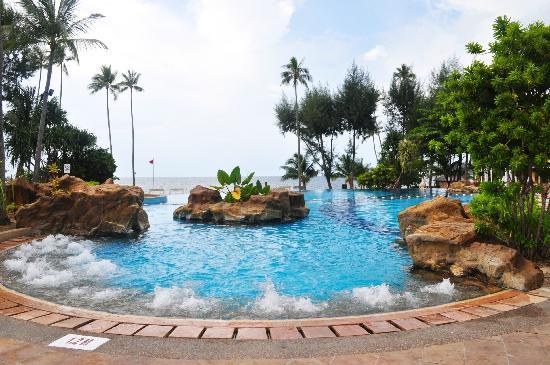 Nirwana Gardens   Nirwana Resort Hotel  Luxurious Infinity Pool. Beach   Picture of Nirwana Gardens   Nirwana Resort Hotel  Lagoi