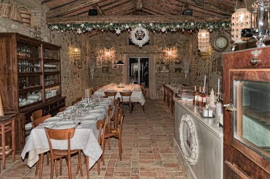 Antica Locanda Sant'Anna: Il ristorante