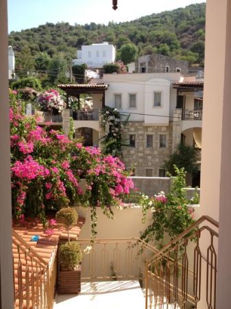 Aegean Gate Hotel: quello che si vede dalla camera da letto