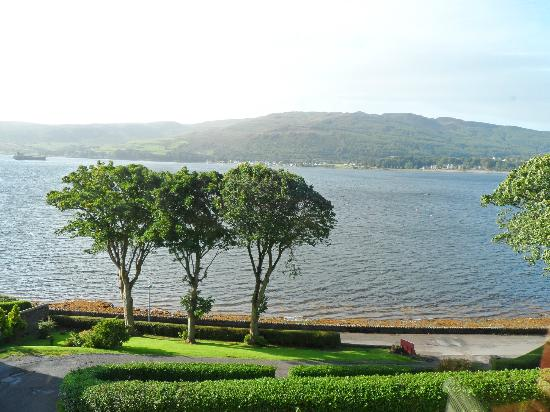 Craigard House Hotel: View from Craigard House of Campbeltown Loch