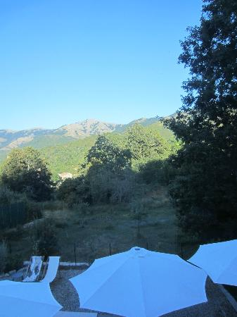 Boutique Hotel Artemisia : View from bedroom