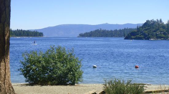 Lake Tahoe: vista de la bahia