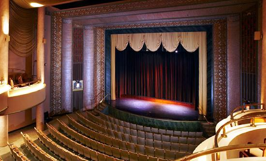 Sumter, SC: The Opera House features a beautiful Art Deco interior for perfomances, meetings and special eve