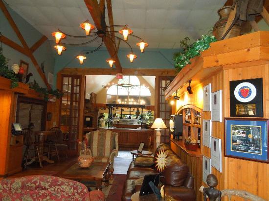 Inside entrance to Season's at Highland Lake