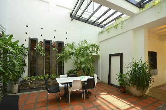 Jonker Boutique Hotel: Courtyard