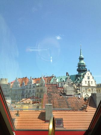 Buddha-Bar Hotel Prague: View from our Room
