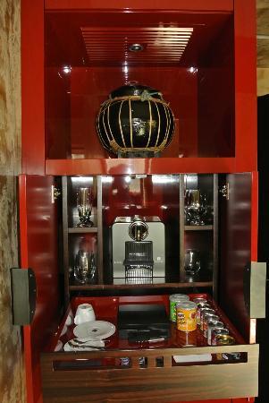 Buddha-Bar Hotel Prague: Free Nespresso Coffee Maker
