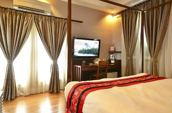 Jonker Boutique Hotel: Deluxe Room with 4Poster Bed