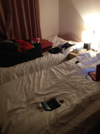 Hazelwood Holiday Park: twin bedroom