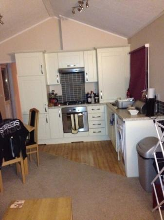Hazelwood Holiday Park: the kitchen