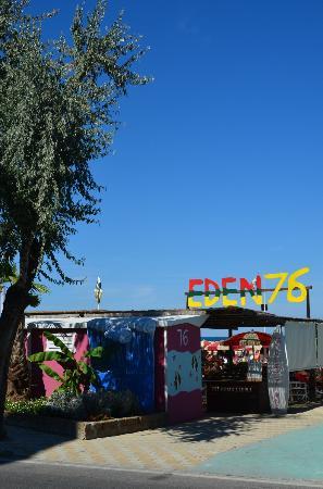Bellaria-Igea Marina, Italie : Ingresso Bagno 76 Eden